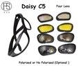 Bajo Precio Polarizado Gafas de Daisy C5 Motocicleta Gafas anteojos Tácticos gafas de Sol Al Aire Libre Ciclismo Gafas Gafas de Equitación Gafas