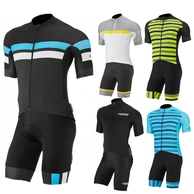 все цены на Team racing  cycling Kit 2018 New Capo short Jersey And 9D gel pad Bib Shorts Ropa ciclismo Cusotm made riding clothing add logo онлайн