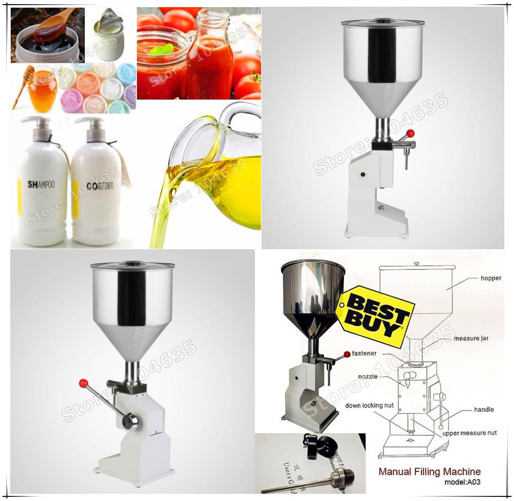Manual paste filling machine liquid filling machine cream filling machine Sauce Jam nial polish filling machine 0 - 50ml free shipping manual filling machine 5 50ml for cream best price in aliexpress liquid or paste filling machine