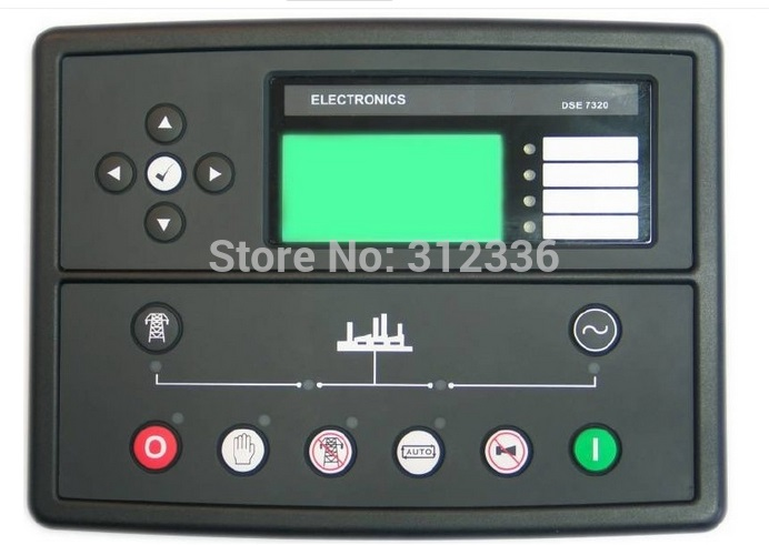 Free shipping DSE7320 Engine generator controller Module  Auto Start Control suit for any diesel generator fast shipping 6 pins 5kw ats three phase 220v 380v gasoline generator controller automatic starting auto start stop function