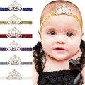 Venda del bebé de La Princesa Niña Corona de La Tiara Diadema Banda Para El Cabello Recién Nacido Apoyo de la Foto Del Pelo Arquea 10 unids HB099
