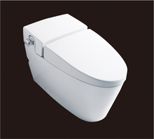 2016 hot sales water closet one piece S trap ceramic toilets with PVC adaptor UF soft