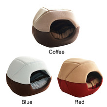 Coffee Blue Red Removable Cover Cotton Cheap Big Pet Products Dog Cat Bed House Mat For Dogs Cats Sleeping Pad Pets Accessories