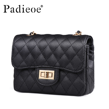 Padieoe 2019 new bags for women messenger bag luxury shoulder bag  evening bag fashion crossbody purse vintage girl lady