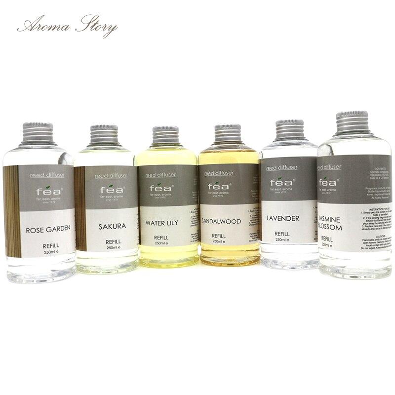 1 st 250 ml aromaterapi essentiell olja jasmin vatten, lilja, - Heminredning - Foto 5
