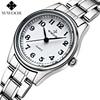 Brand WWOOR Women Watches Dress Ladies Casual Quartz Watch Women Analog Clock Female Stainless Steel Wristwatch