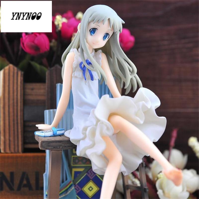 YNYNOO Free Shipping Alter JP Anime Anohana Honma Meiko Menma 21cm/8.3 Actiion Figure Collectible Model Toy P590 anime prison school meiko shiraki sexy pvc figure collectible model toy 15cm 3 colors