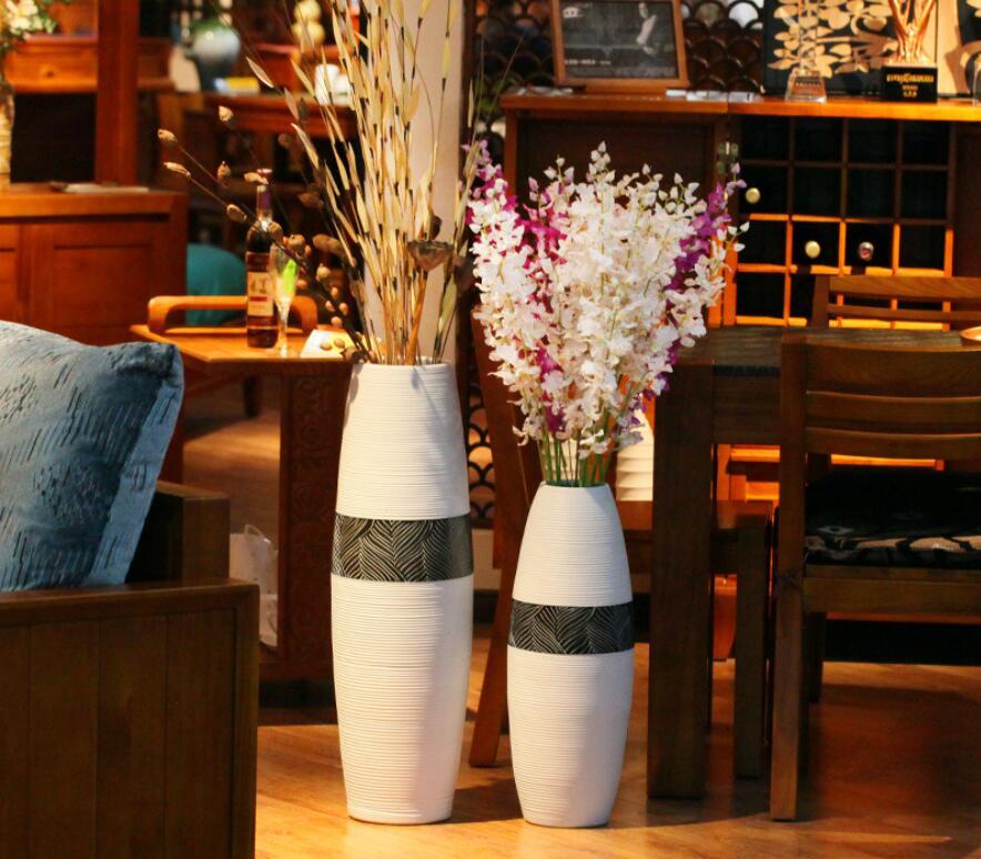 Vase, Hand-laid, Chinese, Decoration, White, Style