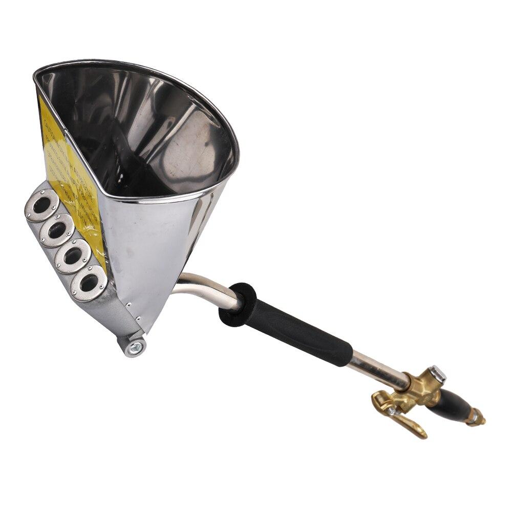 Meterk pistolet à ciment pneumatique Machine de pulvérisation de ciment mur mortier pulvérisateur plâtre trémie pistolet trémie pelle peinture
