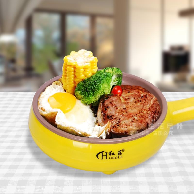 Multifunction Mini electric frying pan Omelette pan Boiled e