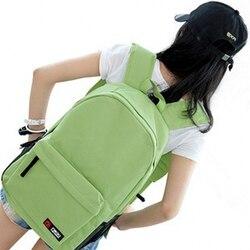 Viejo 2 Casual nueva de hojas de impresión de patrón femenino hombro bolsa clásico de la moda de las mujeres mochila chicas mochila
