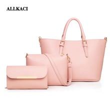 Women Hand Bag Sets Leather Women Shoulder Bags 3 Sets Famous Brand Designer Women Messenger Bags Ladies Tote Bags Sac A Main48