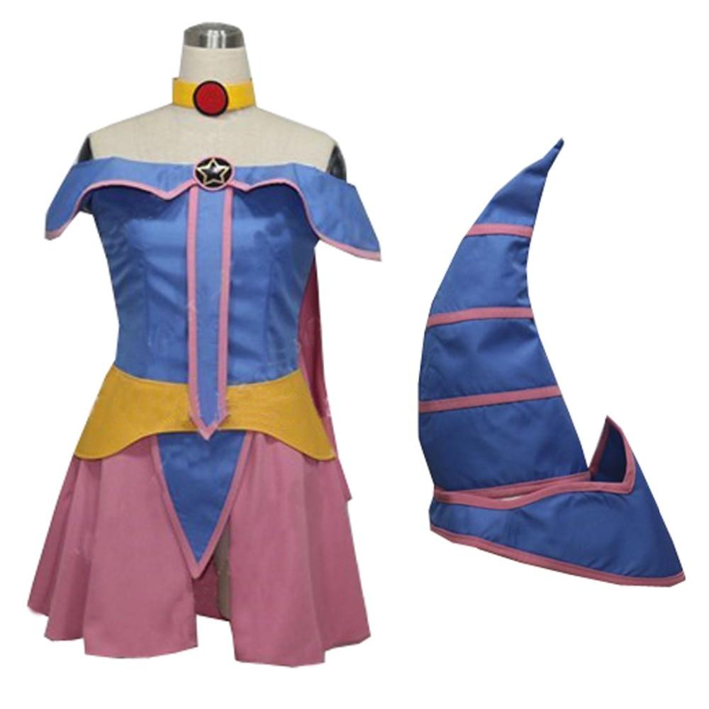 2018 Duel Monstres zexal Kaiba Seto Yu-gi-oh! Costume de Cosplay de fille de magicien sombre de Yu Gi