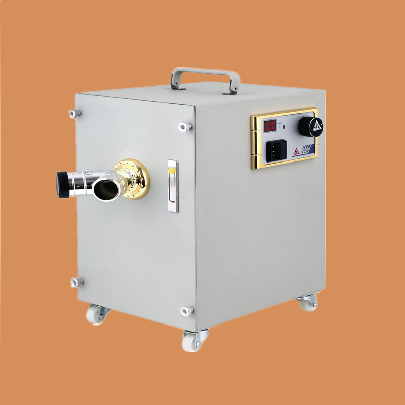 Dental Lab Vacuum Dust Collector Double Motor Vacuum Dust Extraction Machine With Digital Control Strong Power Dental Exractor