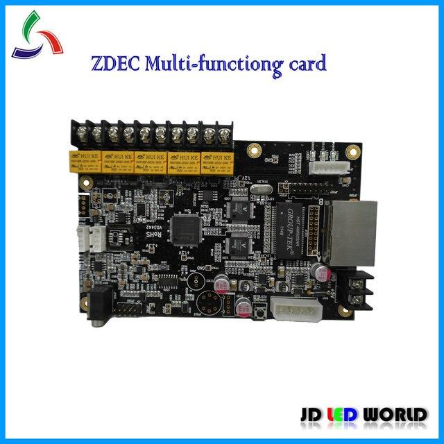ZDEC LED screen multi function card ZQ A81