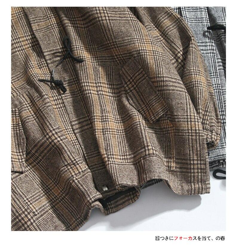 Male Long Coat Oversize Lapel Button Sobretodos Hombre Overcoat Streetwear (10)
