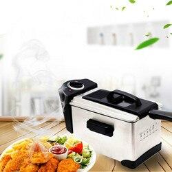 Elektryczne frytkownice  elektryczna smażalnica z kwadratowym inteligentny zawór mieszający termostatyczny frytownica olejowa. nowy