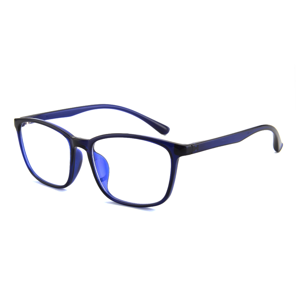 Gudzws TR90 Super Lightweight Anti Blue Light Computer TV Glasses Rectangle Frame Comfortable Fashionable Classic Style Unisex in Women 39 s Blue Light Blocking Glasses from Apparel Accessories