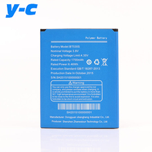 For Zopo Zp330 Battery BT530S 1700mAh Good Quality Replacement backup Bateria For ZOPO ZP330 Cell Phone