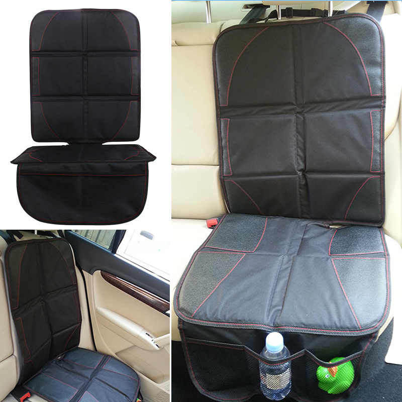 Hot Black Auto Car Seat Back Protector Cover Children Kids Kick Protects
