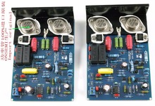 Douk Audio QUAD405 2.0 Channel Power Amplifier Stereo Board With Aluminum Angle MJ15024 Free Shipping
