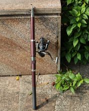 Hot Sale Fishing Combo 3.0M Telescopic Fishing Rod + DE3000 Series Spinning Fishing Reel Set Kit Fishing Tackle