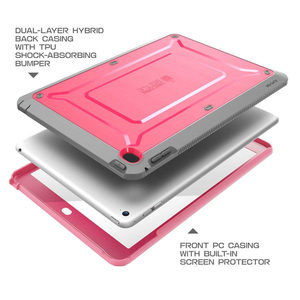 Image 5 - For ipad Air 2 Case SUPCASE UB Pro Full body Rugged Dual Layer Hybrid Protective Cover with Built in Screen Protector For Air 2