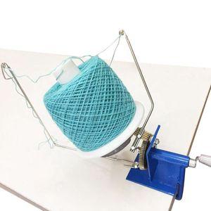 Image 4 - Enrouleur de Machine denroulement de fer de boule de fil de laine rotatif actionné à la main dans la taille de boîte enrouleur de boule de fil actionné à la main