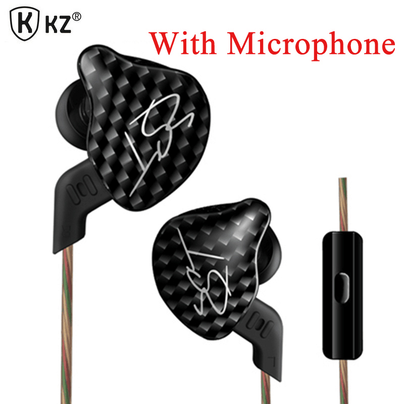 KZ Brand In-ear Earphone Newest for Xiaomi Headset Fresh Version Earphones with or no Mic Compatible for Apple IPhone For Xiaomi dacom carkit wireless bluetooth headset earphone with mic car charger for apple iphone 7 plus airpods android xiaomi samsung lg
