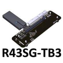 PCIe 3,0x16 Thunderbolt 3 eGPU adapter verlängerung kabel Thunderbolt3 grafikkarte Adapter PCI-Express kabel(China)