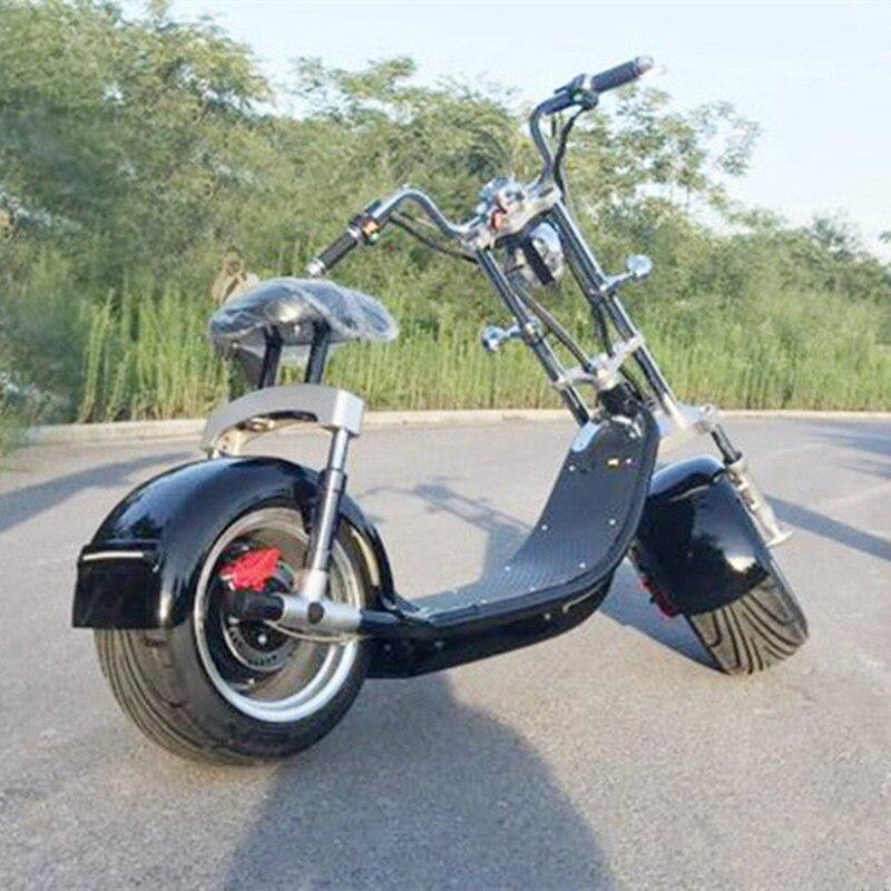 2018 новые одобренные CE fat tire Хейли Тип для взрослых электронный блок велосипед citycoco kick Электрический скутер