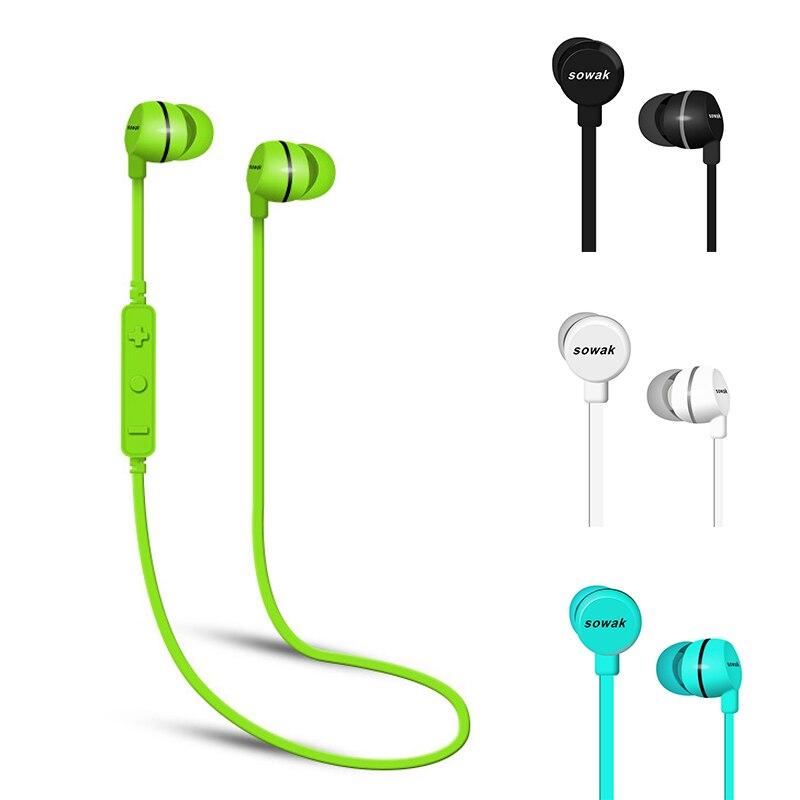 sowak h3 wireless sport sweatproof bluetooth earphone bluetooth headphones earpiece headset. Black Bedroom Furniture Sets. Home Design Ideas