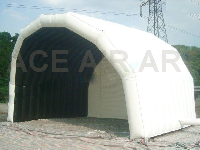 New Design customized White Inflatable Stage Performance /Music /Show Tent