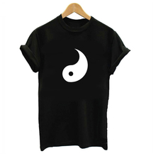 Yin and Yang Printed Couple Matching T-Shirt