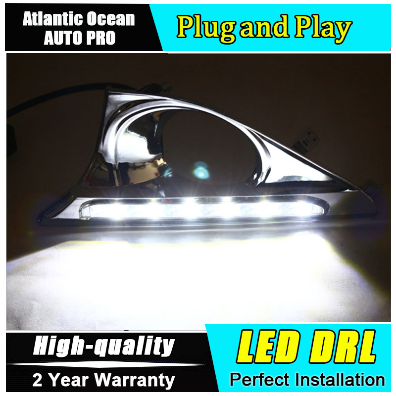 JGRT car styling For Toyota Camry  LED DRL For Camry led fog lamps daytime running light High brightness guide LED DRL for lexus rx gyl1 ggl15 agl10 450h awd 350 awd 2008 2013 car styling led fog lights high brightness fog lamps 1set