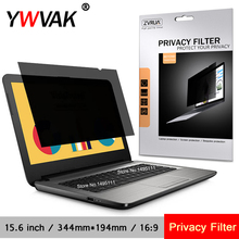 15.6 inch (344mm*194mm) Privacy Filter Anti spy Screens protective film for 16:9 Laptop