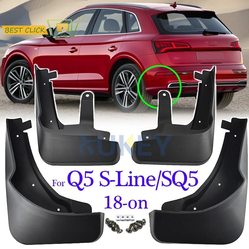 2019 Audi Q5: Set Molded Mud Flaps For Audi Q5 FY S Line SQ5 2018 2019