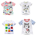 2017 New Fashion Brand Boys T-shirt Kids Tops Designer Toddler Baby Boys T Shirts Cotton Short Sleeve Tee Shirt Kids T Shirt