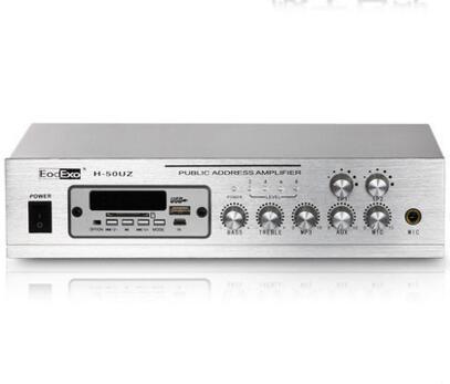 EodExo H 50UZ Bluetooth FM USB Public address amplifier background 15 meters support mobile phone, computer, TV microphone. MP3