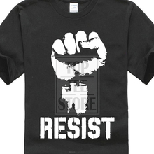Resist Political Anti Protest Power Fist Trump T Shirt Politics S