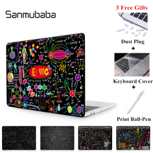 Sanmubaba Case For Macbook Air Pro Retina 11 12 13 15 With Touch Bar Laptop Sleeve Shell for apple mac book 13 inch A1706 Cover