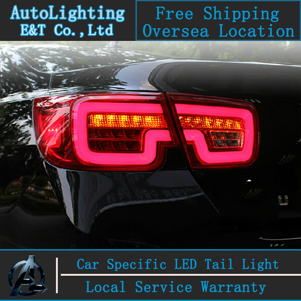 Chevrolet Malibu 2014 For Sale: Aliexpress.com : Buy Car Styling LED Tail Lamp For