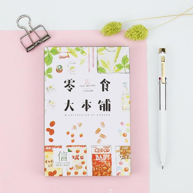 Aliexpress  Buy 30pcs/lot Cute Japanese Snacks Postcards Kawaii