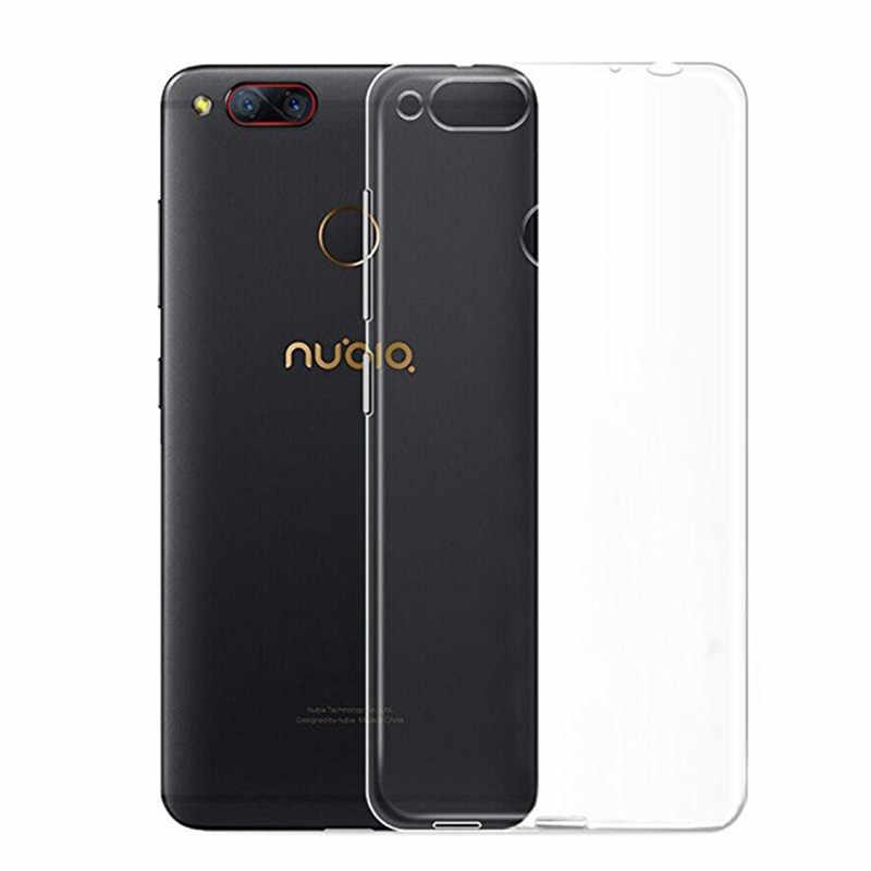 Coque de téléphone en Silicone souple transparent pour ZTE Nubia Z17 Lite Z17S Z17 Mini S Z9 Z11 Max N2 N3 M2 Lite Z18 mini housse