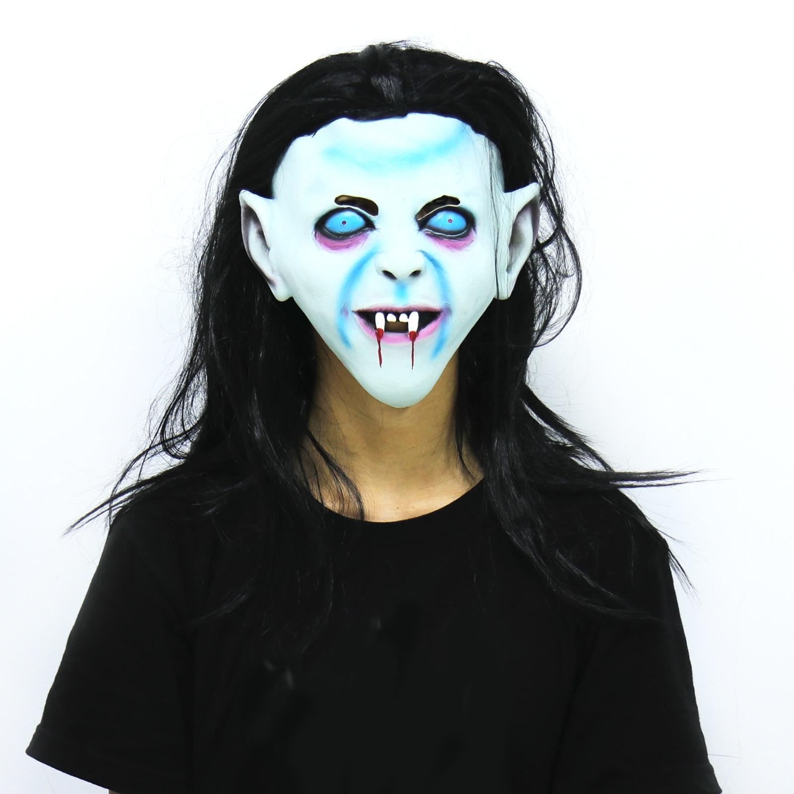 Horror Halloween Wig Mash Ghost Festival Haunted House