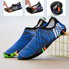 Woman Man Water Sport Shoes Outdoor Barefoot Aqua Shoes For Beach Swimming Barefoot Shoes Quick-Dry Sock Surfing Walking Sneaker barefoot over stones