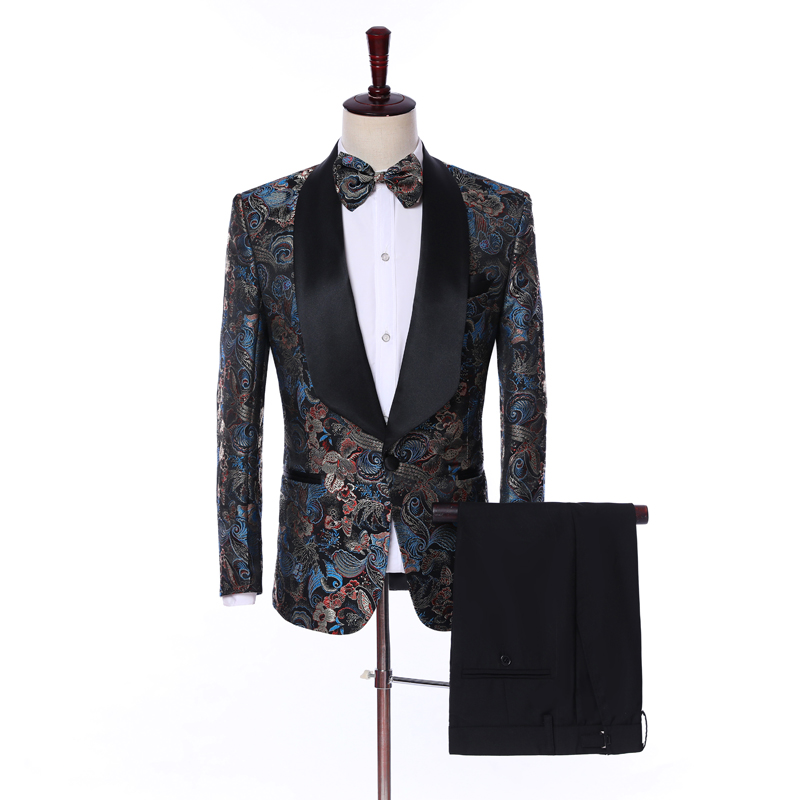 2018 new arrival Men s suit set jacket Unified super large Formal Single Breasted plus size