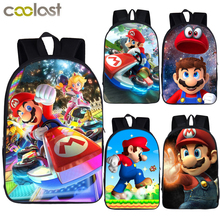 cartoon mario / smash bros backpack children school bags for teenager boys girls bagpack kids school backpack student book bag colorful unicorn students backpack cartoon panda children school bags backpack for teenager girls book bag women laptop backpack