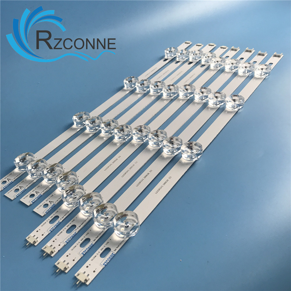 RZCONNE LED Backlight Strip 8 Lamp For LG 42 Inch TV INNOTEK DRT 3.0 42