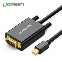 UGREEN Mini DisplayPort To VGA Male Video Cable 1080P Thunderbolt Compatible Glod Plated